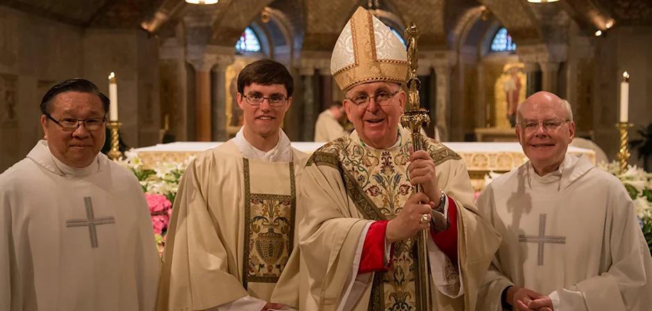 Diaconate Ordination Begins